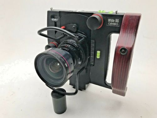 Cambo Wide DS architectural camera with Rodenstock 28mm lens and Hasselblad H ad